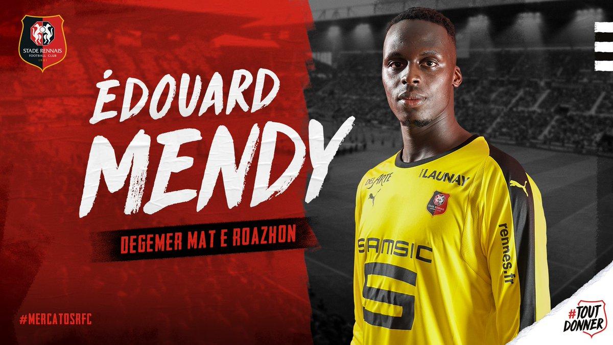 Edouard Mendy Stade Rennais