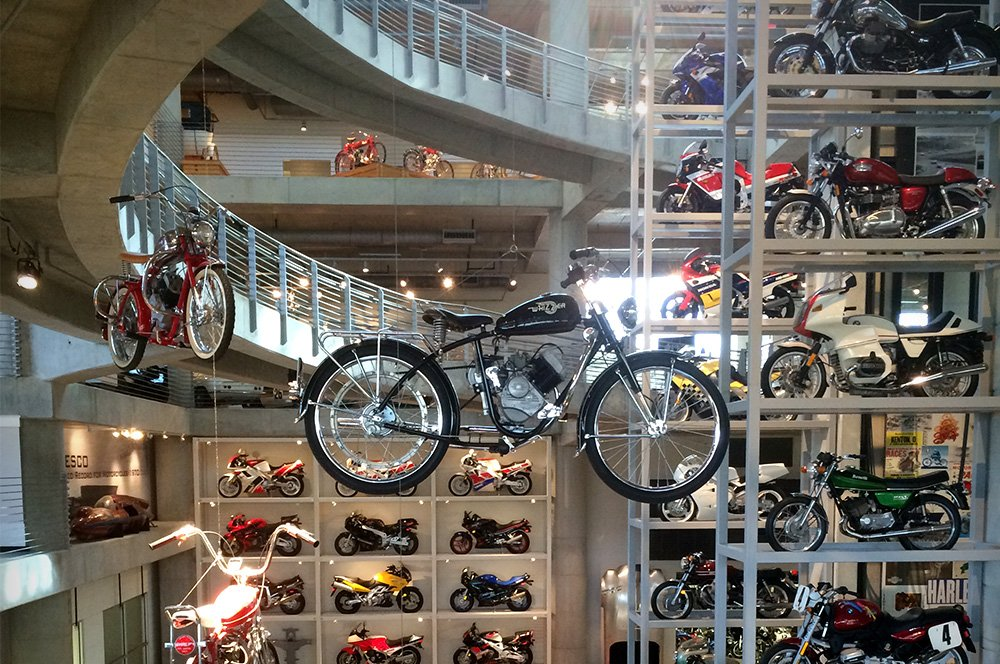 Weve got the worlds largest museum of motorcycles right in our front yard! So, while youre at #BVF19, Oct 4-6, stroll on over to the @BarberMuseum and experience the world of motorcycles as youve never seen it before. For details ⇢ ow.ly/EVsm50vpBwH