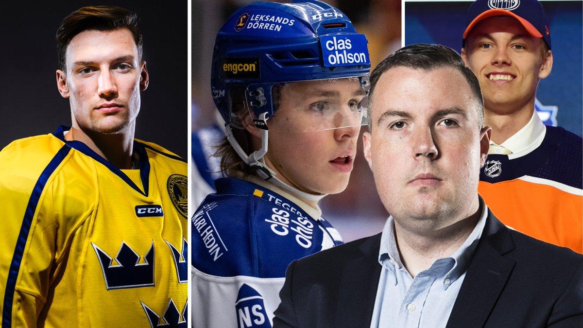 """JOHAN SVENSSON: """"Tio SHL-spelare som kan slå igenom i vinter"""""""