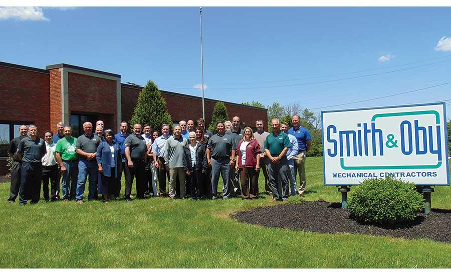 Congratulations to Mike Brandt and everyone at Smith & Oby for being named 2019 Mechanical Contractor of the Year by Plumbing & Mechanical Magazine! Imagine that!