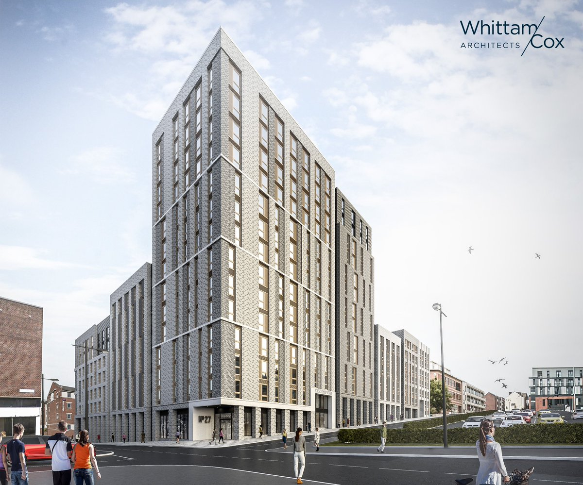 Congratulations to @nickriley_arch @NTSeneviratne  and the team at @whittamcoxarch - great to see this part of the heart of the city 2 masterplan being brought forward @arup @SHEFFturntown @QberryRE @Sheff_HoC2 @Sheff_HoC2