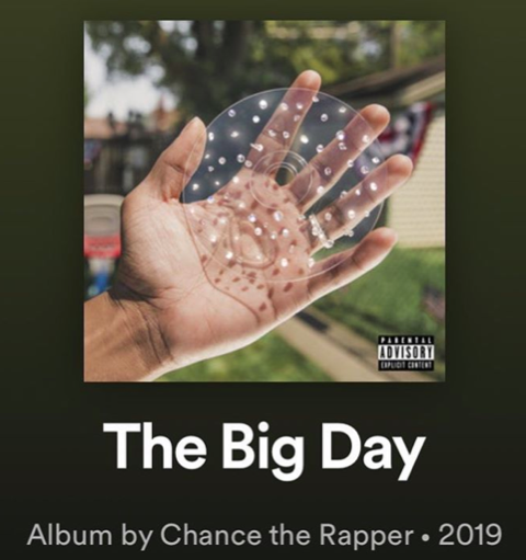 """@chancetherapper!!! """"Big Fish"""" produced by #TEAMTIMBO @monomusicgroup @fedevind @theangellopez @timbaland"""