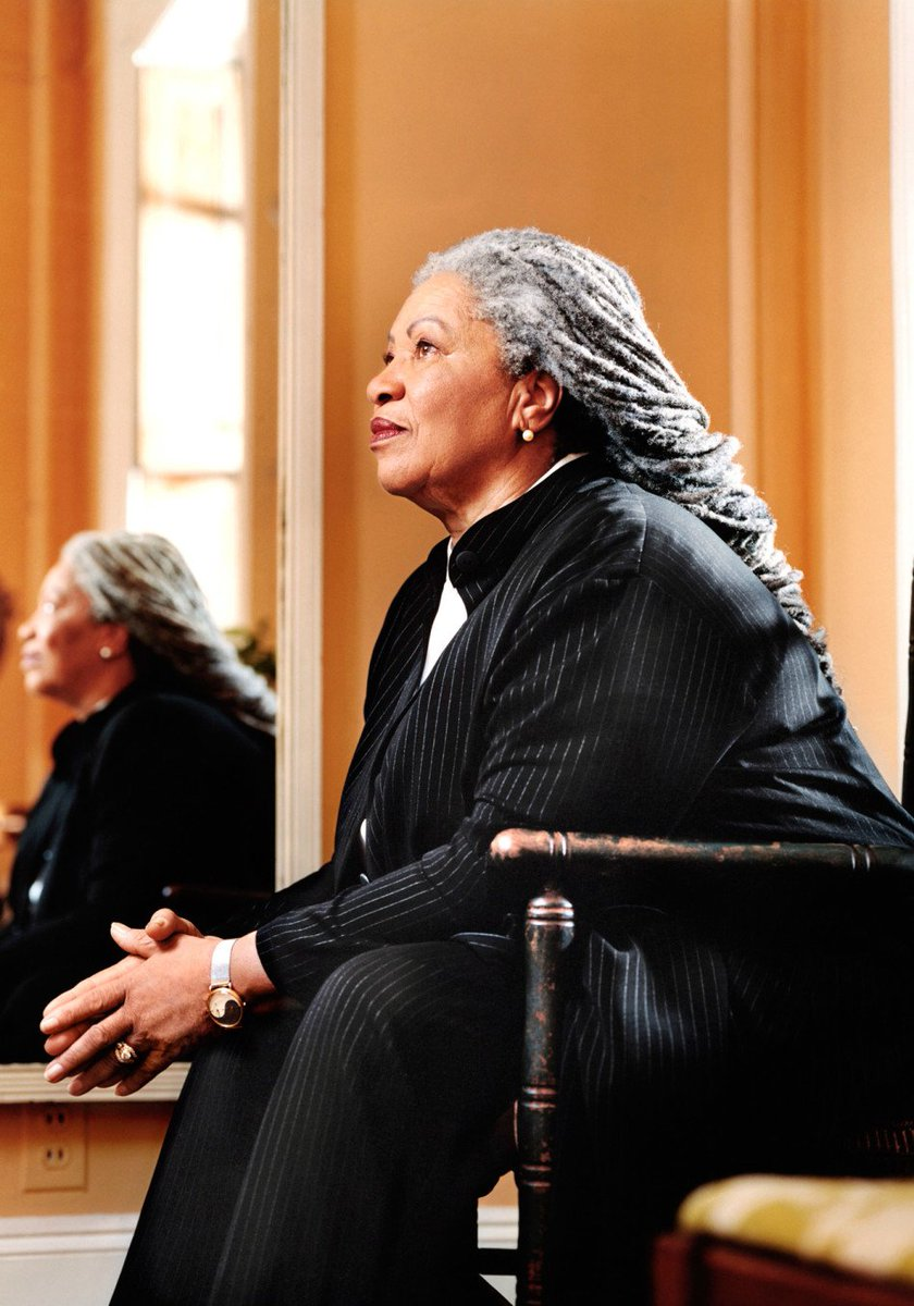 Today we mourn an American treasure, the great Toni Morrison. Freeing yourself was one thing, claiming ownership of that freed self was another. May she rest in power. #ToniMorrison