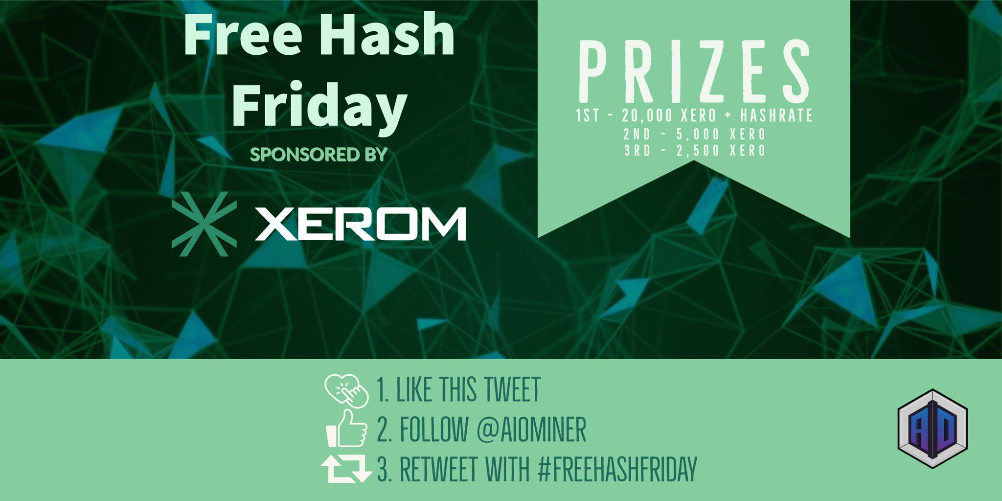 "Aio Miner aiominer on twitter: ""it's time for august's #freehashfriday"