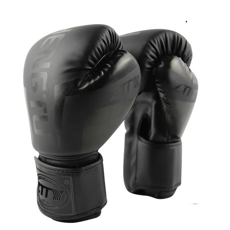 Boxing Gloves Sanda Sparring Muay Thai MMA Karate Punch Kickboxing  De Luva DEO