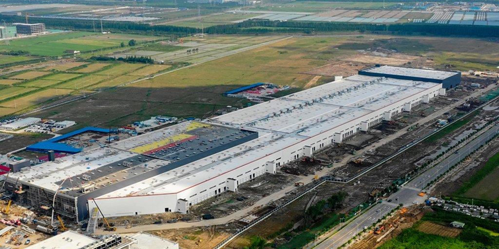 So, Gigafactory Shanghai is going well…