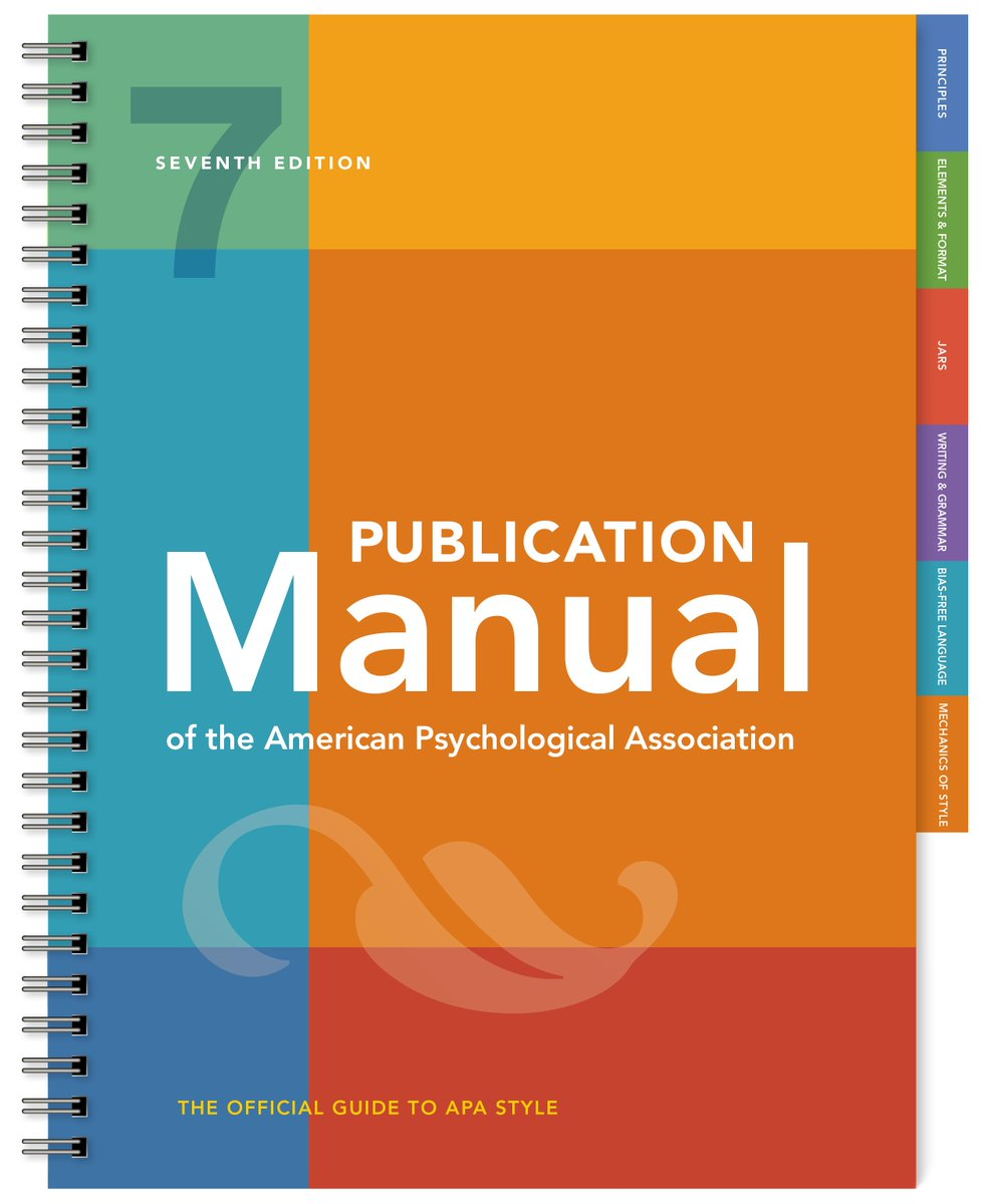 Image result for apa 7th edition