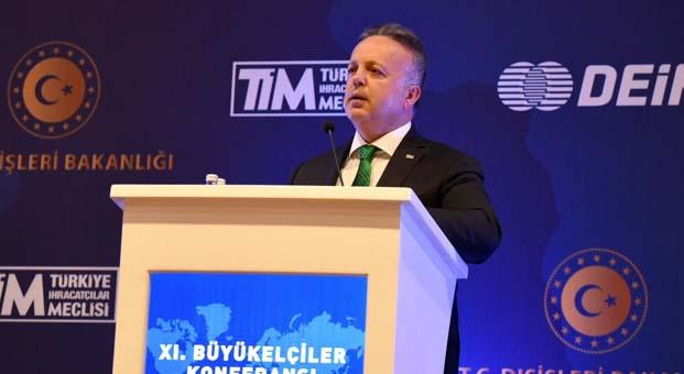 İsmail Gülle'den büyükelçilere ihracata destek çağrısı
