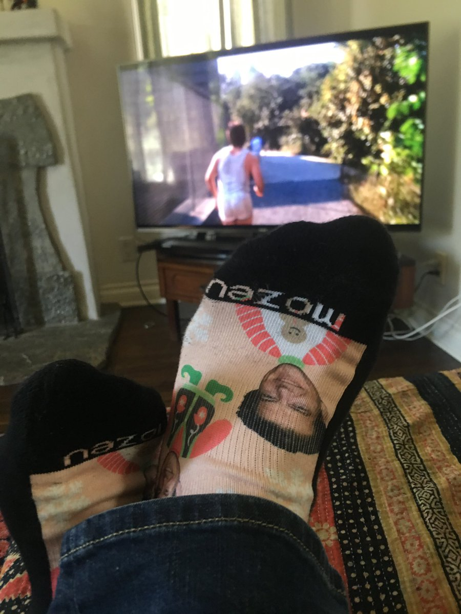 . @jacobaaronestes watching #marathonman in the LEGENDARY @jason_blum socks right NOW. See his movie @DontLetGoMovie coming out SOON. How about that for a weird promotional tweet?!