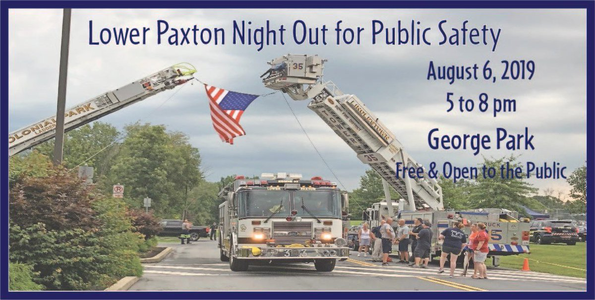 Can't wait to see you all tonight! #nightout #lowerpaxtontwp #ourcommunity
