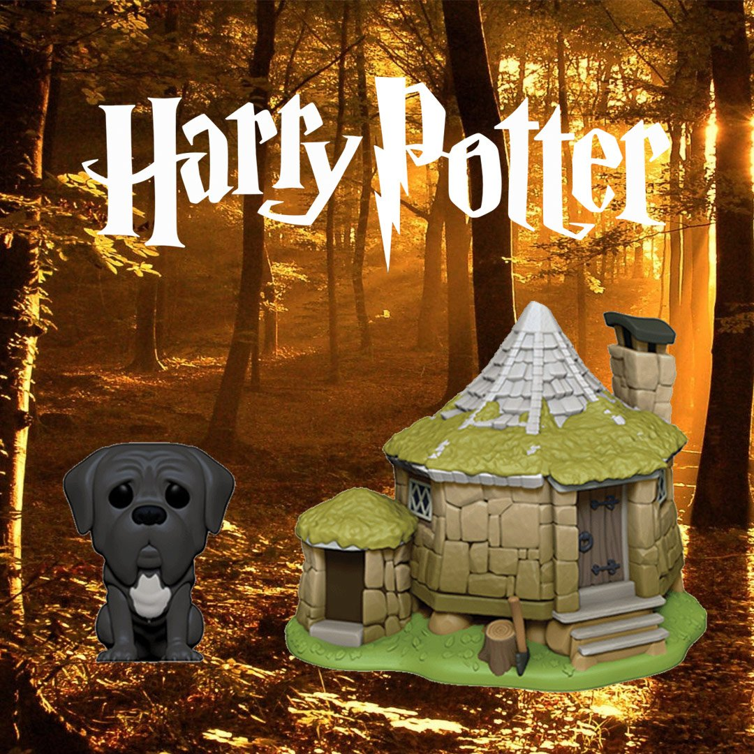 FUNKO POP Harry Potter-Hagrid/'s House avec Fang
