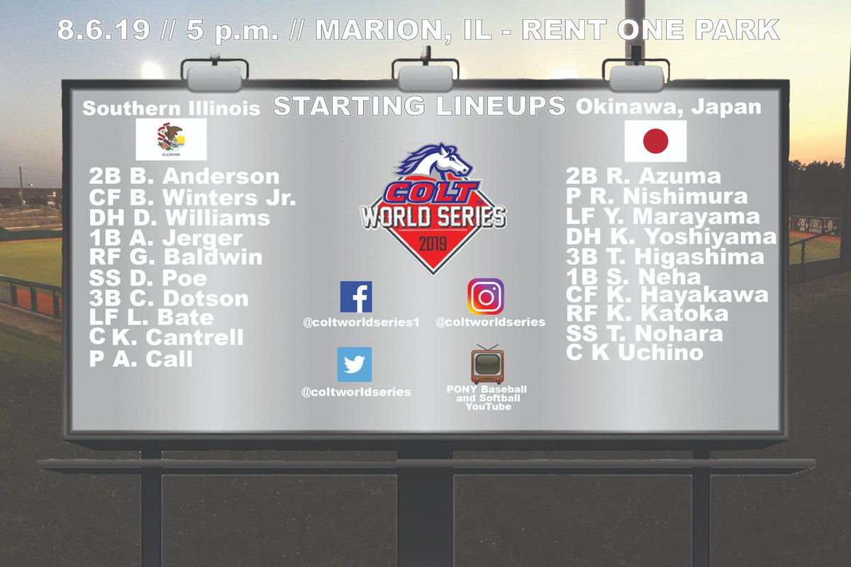 Colt World Series (@ColtWorldSeries)   Twitter