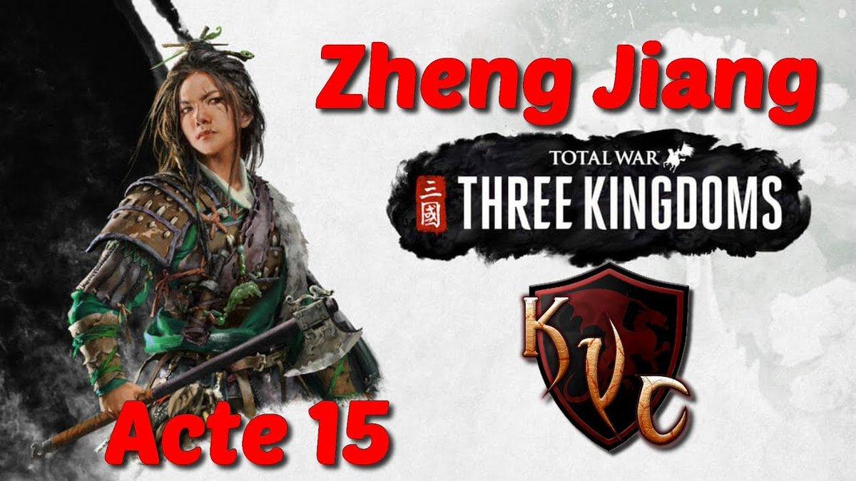 Total war three kingdoms zheng jiang