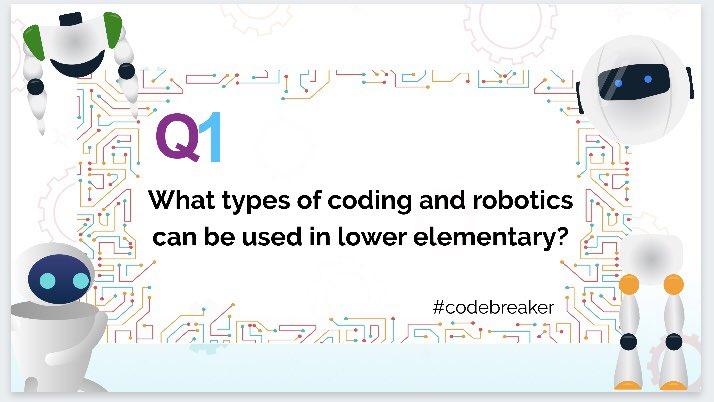Q1: #codebreaker