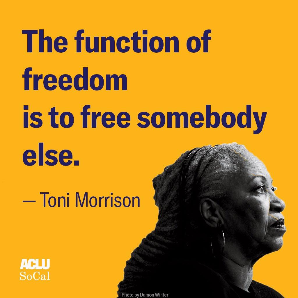 Rest in power, Toni Morrison. #ToniMorrison #Beloved