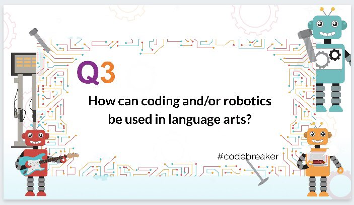 Q3: #codebreaker