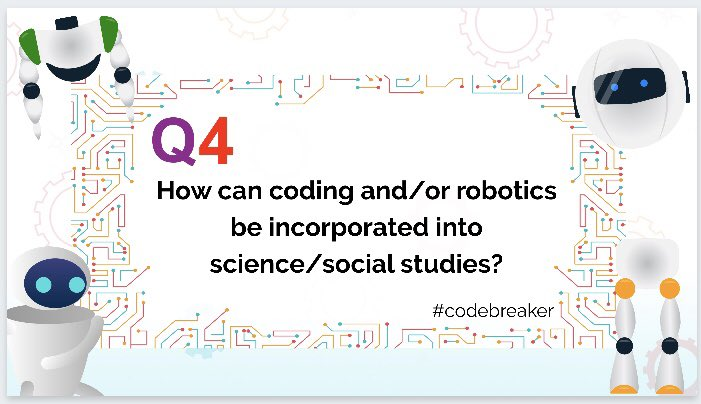 Q4: #codebreaker