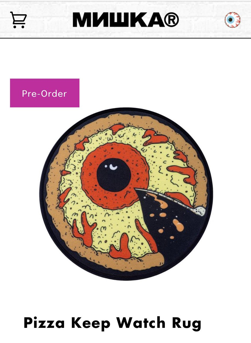 I just bought this fucking rug @MishkaNYC
