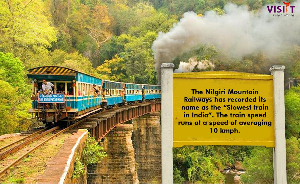 Image result for india's slowest train nilgir mountain rail