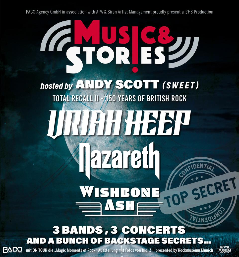 Uriah Heep On Twitter Music Stories Tour 2020 With Uriah Heep Nazareth And Wishbone Ash As Well As Andy Scott As Host All Dates Now At Https T Co Otb5ga0lgc Ticket Links To Follow