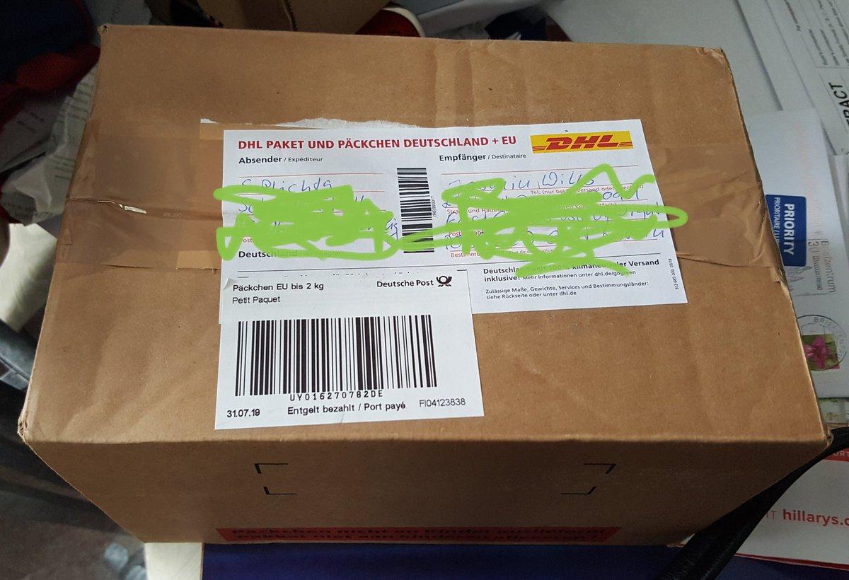 Paket Per Nachname Verschicken