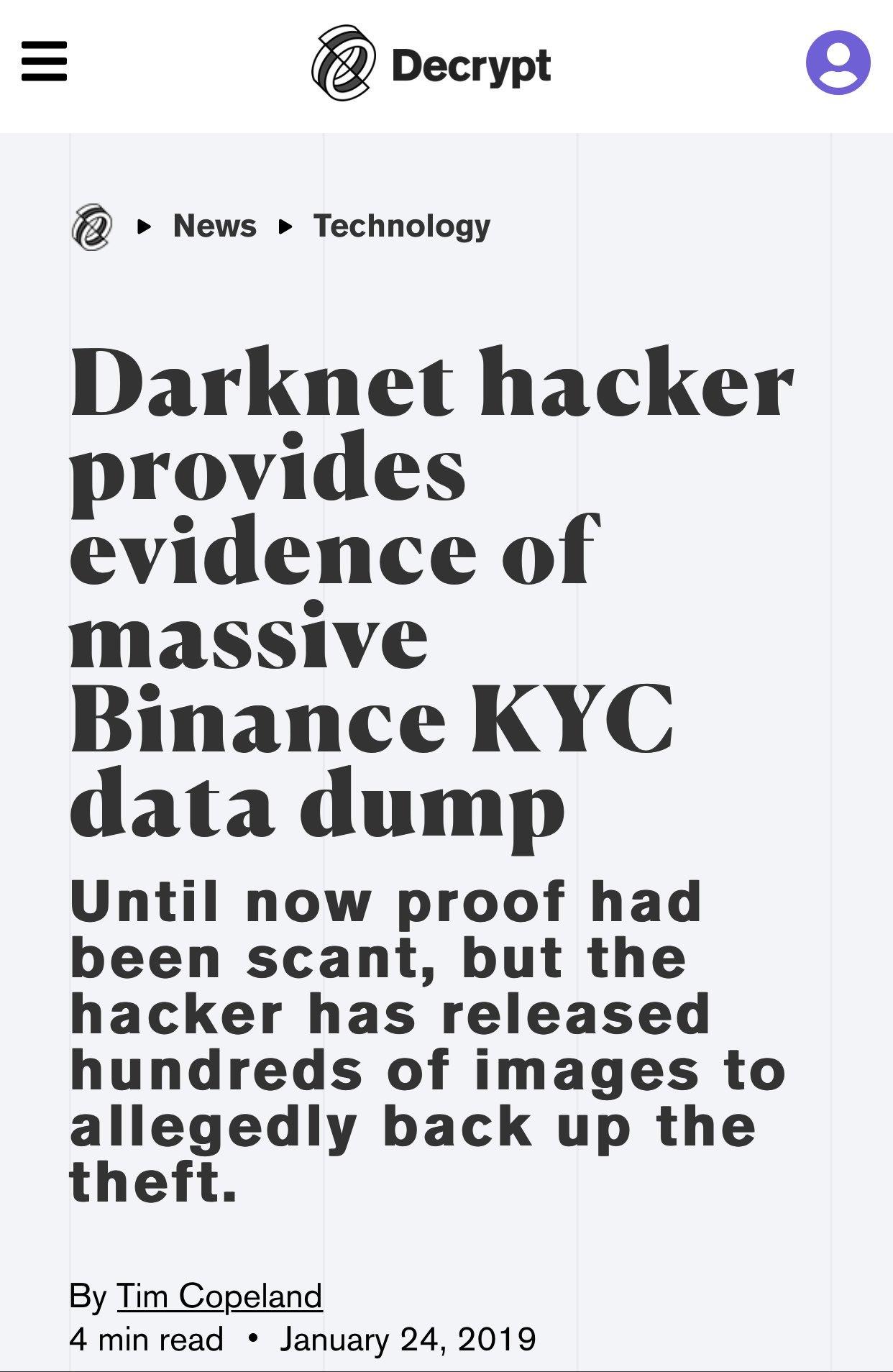 Decrypt darknet