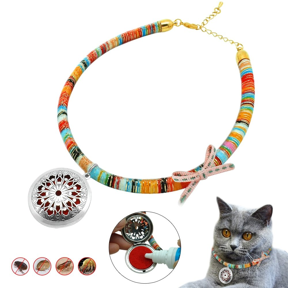 #hashtag4 Natural Dog Cat Flea Collar Anti Mosquito Lice Adjustable Dog Puppy Cat Kitten Collars Pet Necklace Outdoor essential oils or Insecticidal-in Cat Collars https://t.co/FQmcUOJSqh https://t.co/YgpkNXV4le