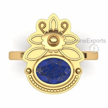 Beautiful Lapis Gemstone Ring, Handmade 18k Gold Rings Jewelry !  Visit our store: https://t.co/vl1IBF7Azh  #lapisring #handmadering #handmadejewelry #lapisgemstone #fashionring #silverring #goldplated #gemstonering #gemstone #womenring #fashionforwomen #ringsjewelry #gift https://t.co/3LctzmCWMI