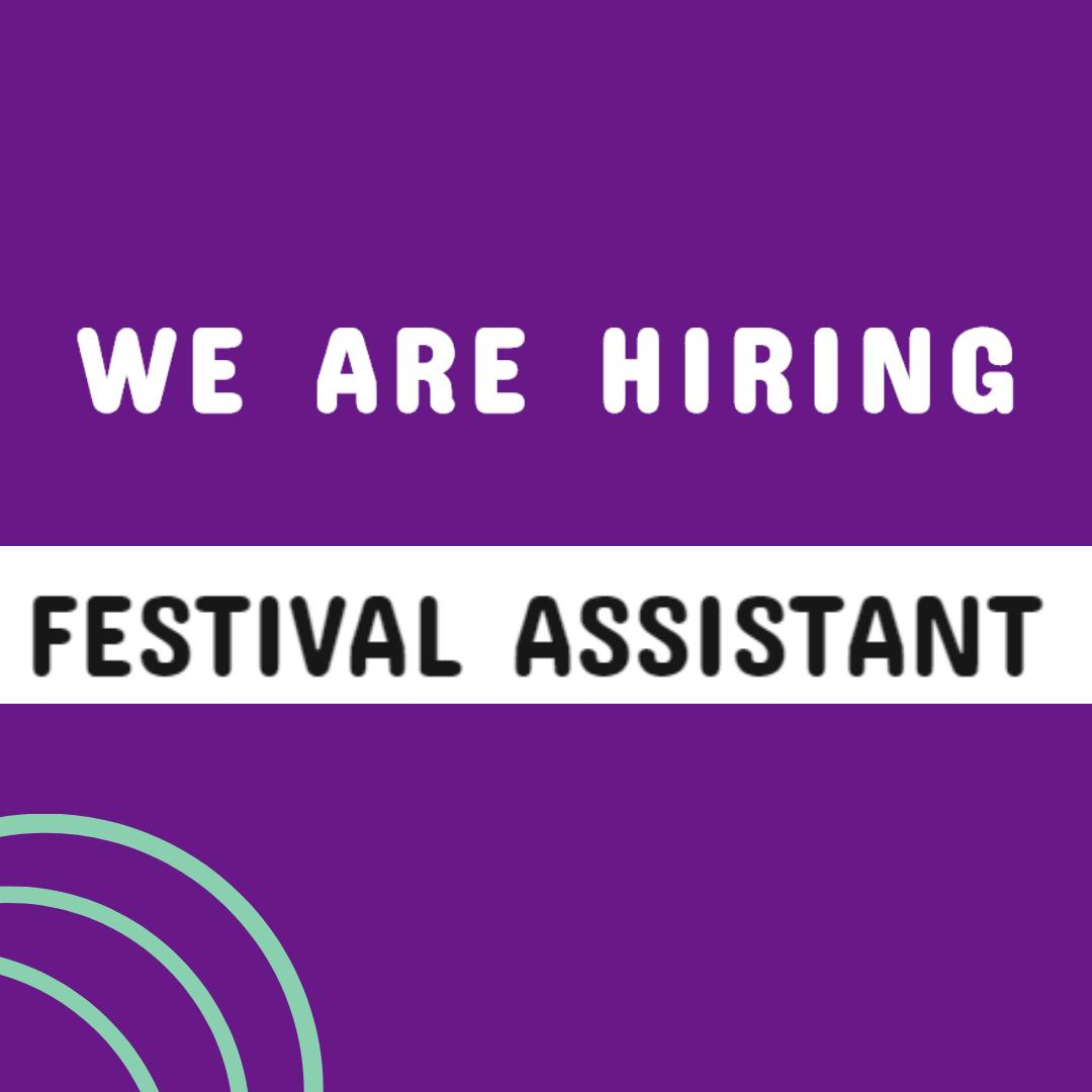 WE ARE HIRING! We are looking to appoint a dedicated, proactive freelance Festival Assistant to help in coordinating the planning and the day-to-day running of the festival. Could it be you? Find out more and apply: homotopia.net/we-are-hiring-… Deadline: 22 August #ArtsJobs #LGBTQ