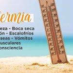 Image for the Tweet beginning: Alerta #personasmayorespor las altas temperaturas.
