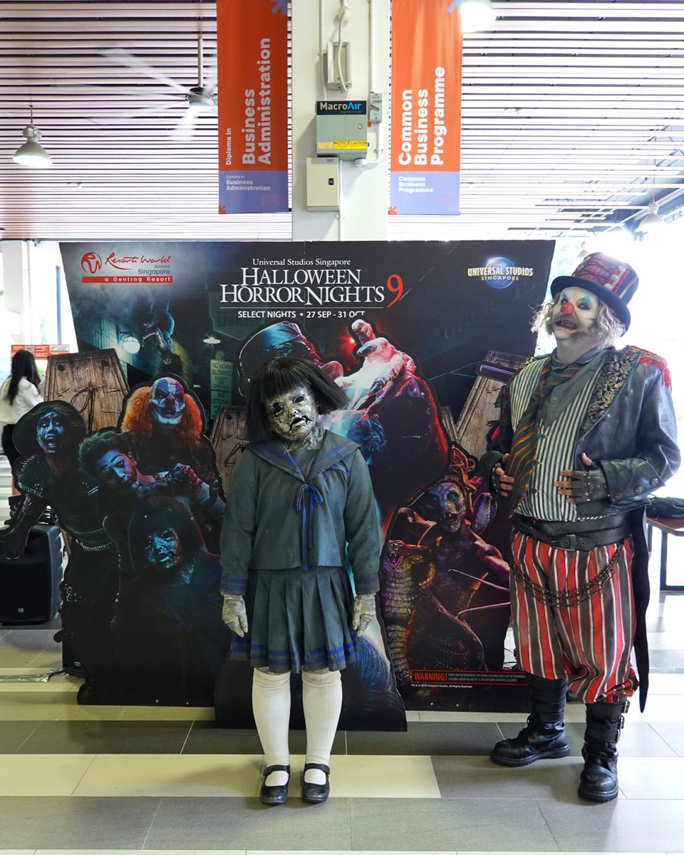 Resortsworldsentosa On Twitter Calling All Brave Souls Our Scare Actors Will Be Back At Singapore Polytechnic Tomorrow Come Snag Frightfully Good Deals For Tickets To Universal Studios Singapore S Halloween Horror Nights 9