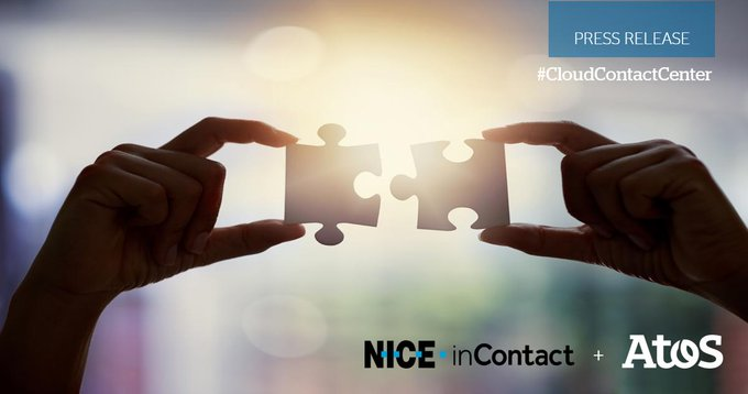 🆕 Atos partnership with @NICEltd @inContact affords @Atos a market leading...