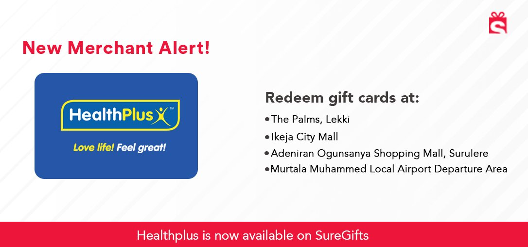 Healthplus is one of the largest pharmacy chains in Nigeria. Send vouchers for medicine to your loved ones at home via SureRemit.