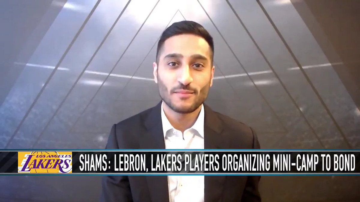 Details on Lakers' LeBron James organizing team minicamp in September ahead of LAL training camp.