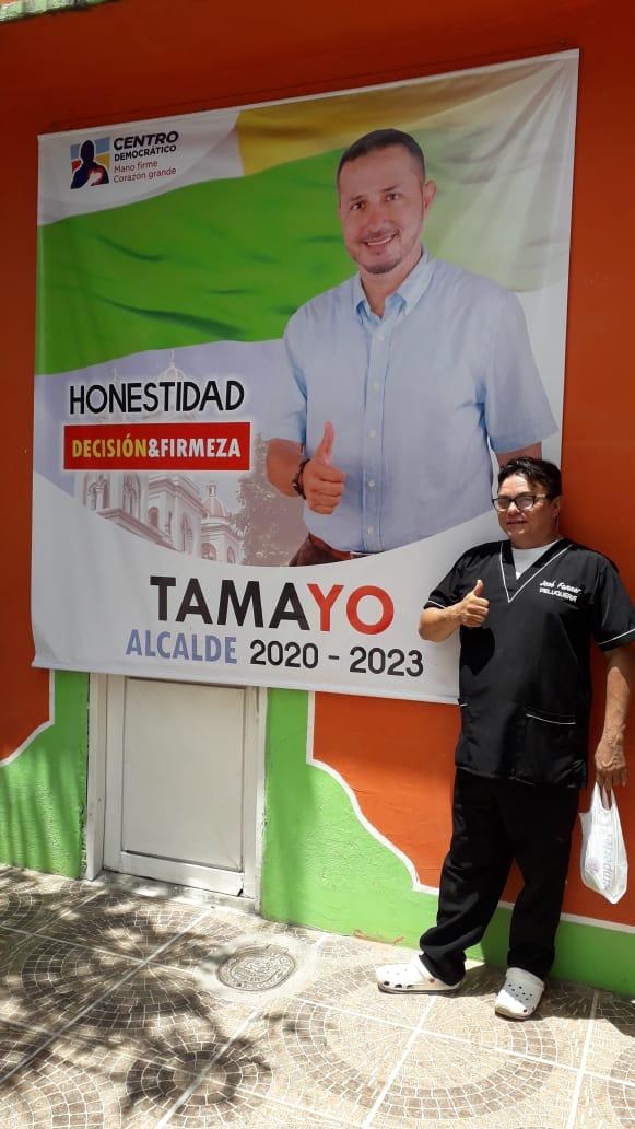 Yo voto Juan Carlos Tamayo ala alcaldía del espinal porque quiero mi pueblo para que todos estemos mejor