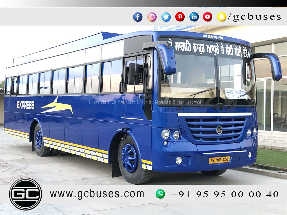 gcbuses - GC Buses (GOBIND COACH) Twitter Profile | Twitock