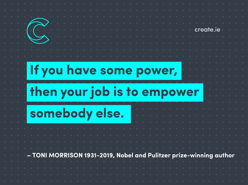 Wise words from Toni Morrison. Rest in Peace...  #inspiration #branding #empowerment #leadership