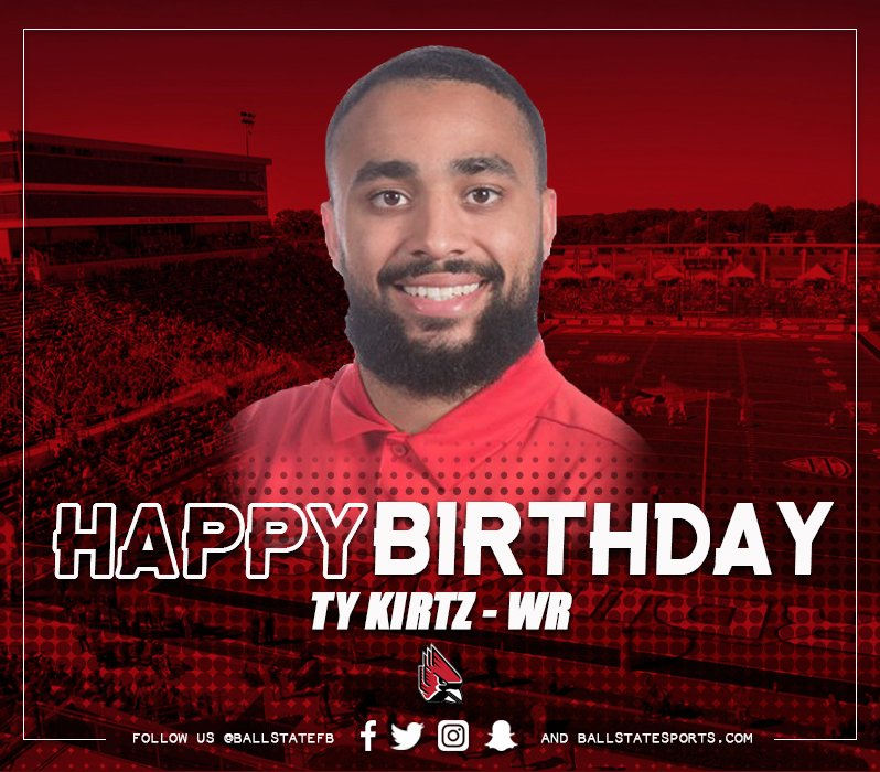 Happy Birthday to RS-Junior WR Ty Kirtz (@tylerkirtz)!