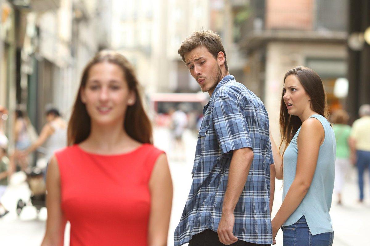 תוצאת תמונה עבור meme jealous girlfriend