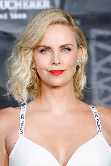 Happy birthday to the stunningly sexy Charlize Theron!