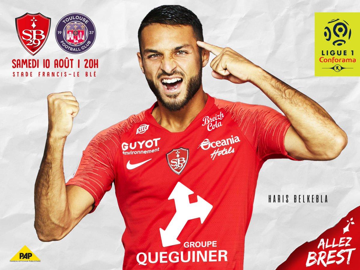 Stade Brestois Ligue 1 Toulouse FC