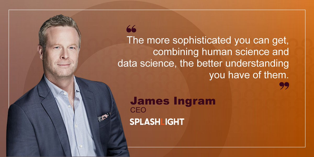 James Ingram, CEO at Splashlight and Telmar says Splashlight is one of the leaders in creating Visual content for online and e-commerce, and it's extremely sophisticated in its creative process. ow.ly/nJP630pjqvr @splashlightsoho #MarTech #Tech