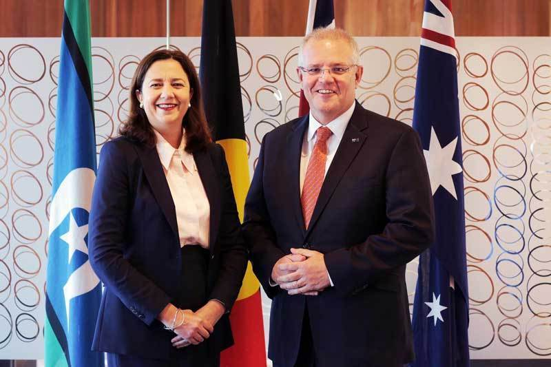 test Twitter Media - Australian PM @ScottMorrisonMP To Meet 2032 Olympic Bid Leadership @AnnastaciaMP @Schrinner This Week Ahead Of #IOC Meeting #Brisbane2032 https://t.co/XTyF64qqvf https://t.co/ngYnMIVGYc