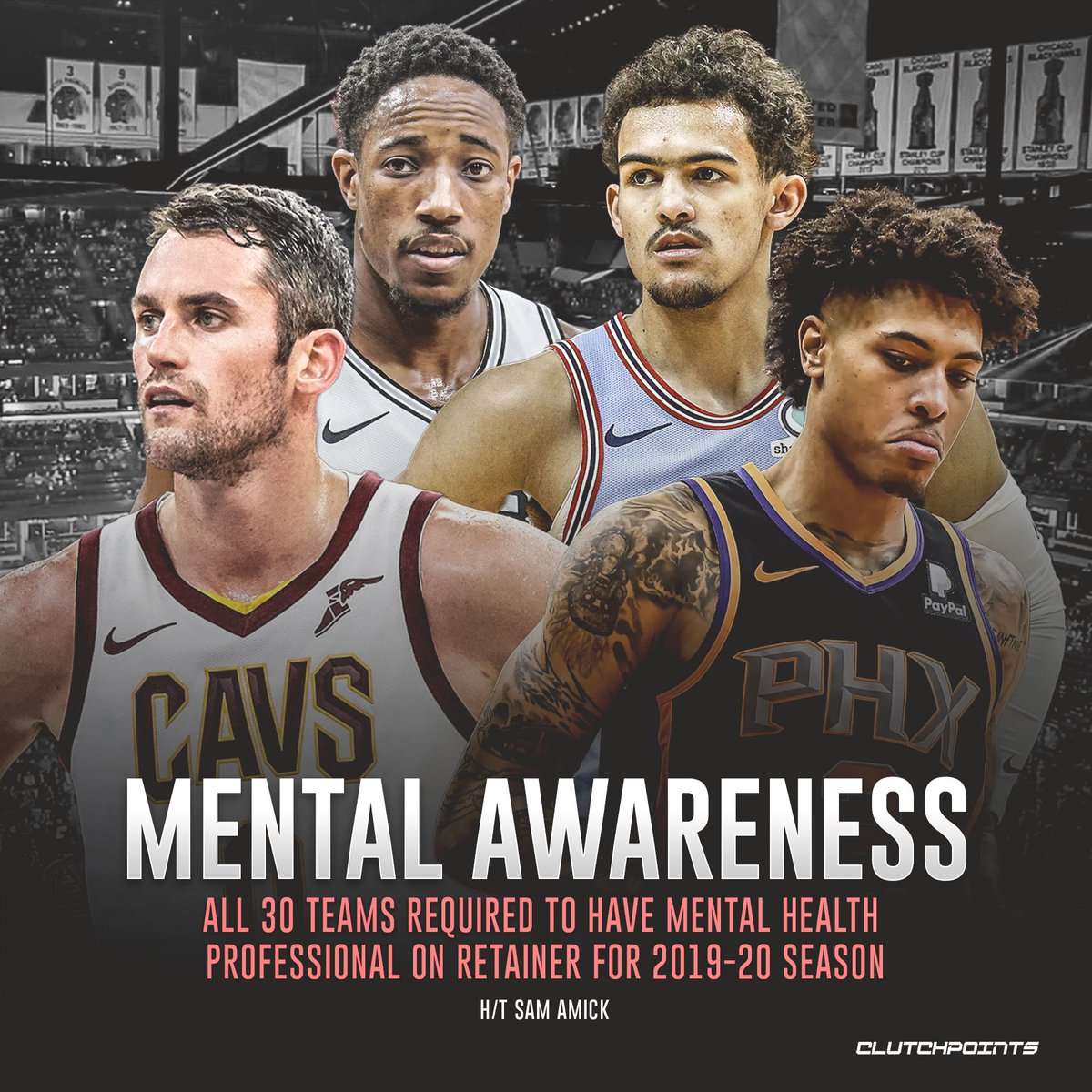 NBA will make it a requirement for teams to retain licensed mental ...