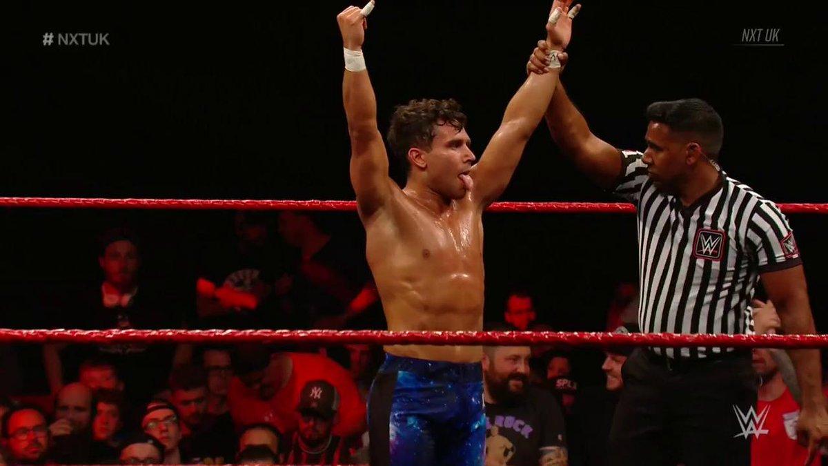 .@NoamDar just defeated @AshtonSmith_WWE on #NXTUK. Pass it on.
