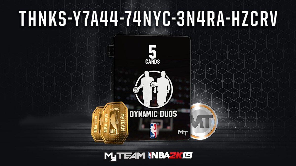 NBA 2K20 MyTEAM (@NBA2K_MyTEAM) | Twitter