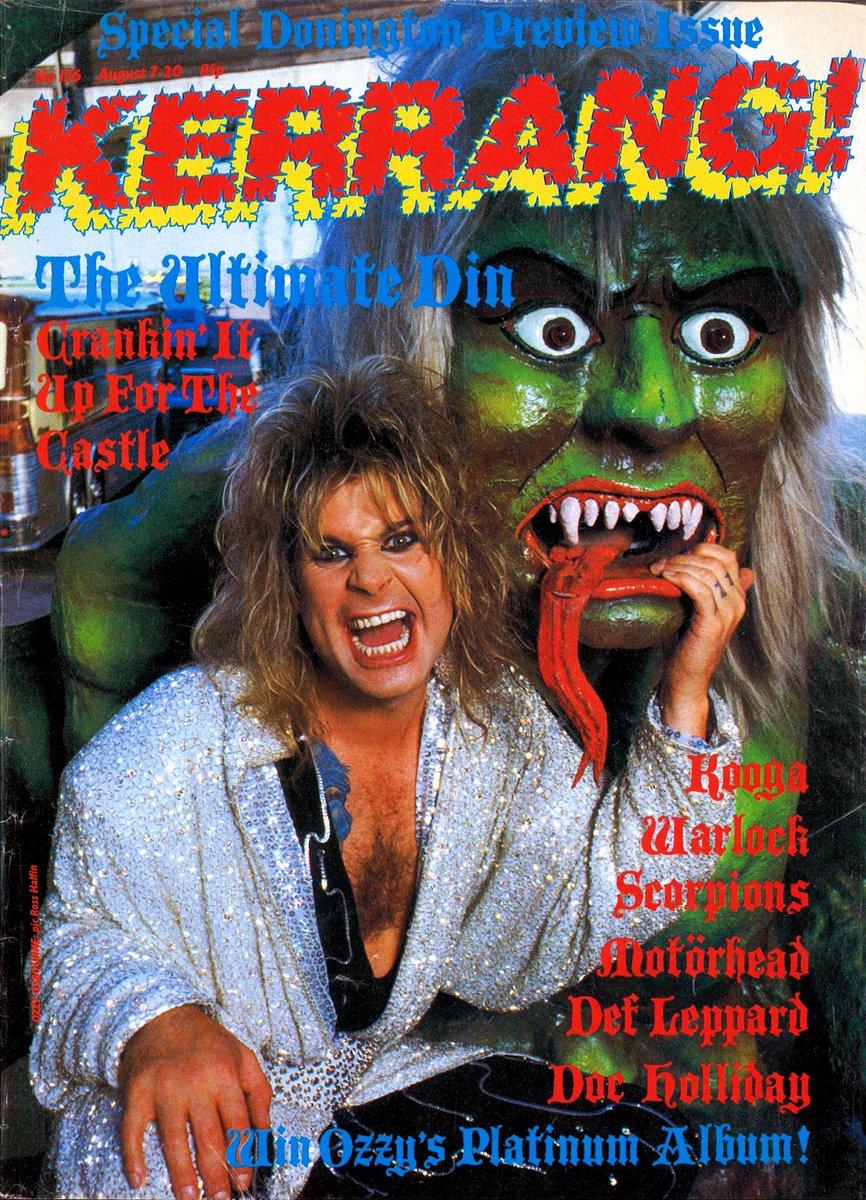 August 7, 1986 @KerrangMagazine