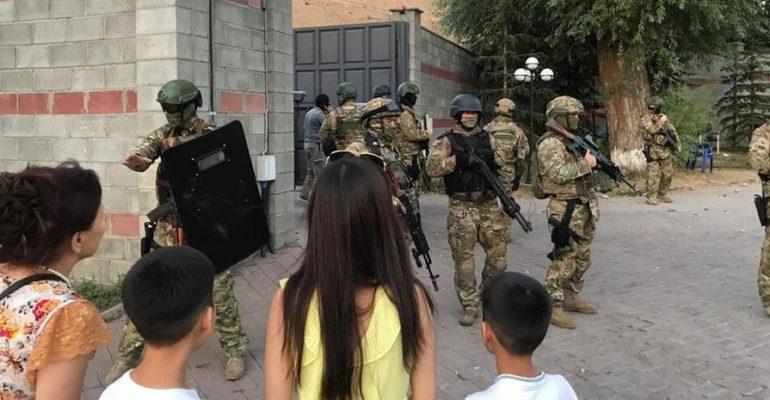Неудачный штурм резиденции Атамбаева