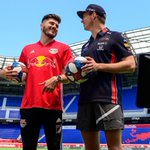Kicking it with @NewYorkRedBulls ⚽️💪 Check the full gallery 📸👉 https://t.co/ps7O6ZPcTy