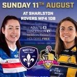 Image for the Tweet beginning: NEXT UP……  🆚 @yckladies 🗓 Sunday 11th